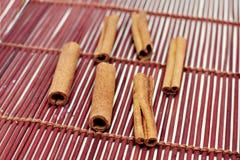 Palillos de Cinamon Fotos de archivo libres de regalías