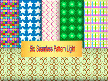 Seis-Sem Emenda-Teste-luz Imagem de Stock Royalty Free