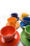 Seis tazas Foto de archivo libre de regalías