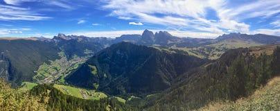 Seiser Alm et Val Gardena, Italie Photo libre de droits