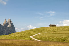 Seiser alm,South Tyrol,Italy Stock Photo