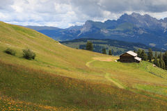 Seiser Alm Royalty Free Stock Photography