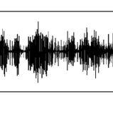 Seismic  diagram. Abstract black seismogram on white  paper background Stock Photo
