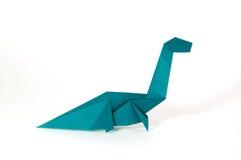 Seismosaurus origami Royalty Free Stock Image