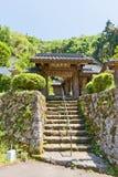 Seisuiji-Tempel von Iwami Ginzan Omori, Japan stockbilder