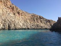 Seitan limania plaża Obrazy Royalty Free