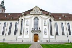 Seite der Abtei von St Gallen Stockbild