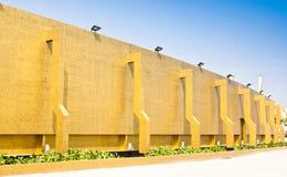 Seite des Gebäudes. Stockbild