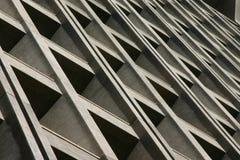 Seite des Gebäudes Stockfotos