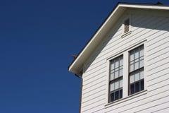 Seite des generischen Hauses Stockfoto