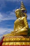 Seite des größten Bildes von Buddha im wat Phrataddoitae Lizenzfreies Stockfoto