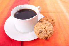 Seite des Kaffees Lizenzfreie Stockfotografie