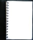 Seite des leeren Papiers Stockfoto