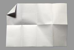Seite des Weißbuches Stockfotos