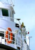Seite eines Bootes Lizenzfreie Stockbilder