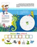Seite A4 für Kind vektor abbildung