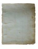 Seite vom alten Buch stockbild