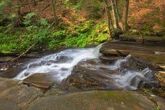 Seite von Beecher Creek Stockfotografie