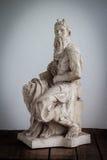 Seite von Moses-Statue Lizenzfreies Stockfoto