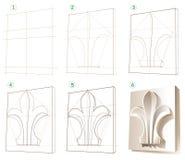 erlernen sie mit bleistift zu zeichnen lizenzfreies. Black Bedroom Furniture Sets. Home Design Ideas