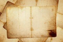 Seiten des alten Buches Stockfotografie