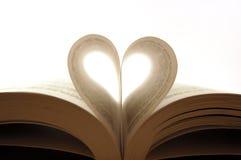 Seiten eines Buches Stockbild