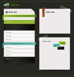 Seiten für Ihre Site, Blog Lizenzfreie Stockfotos