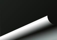 Seiten-Rotation-Abbildung stock abbildung