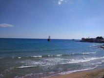 Seiten-Strand Antalyas Manavgat Stockfotografie