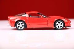 Seitenansicht 2007 Chevrolet- Corvettec6 z06 Stockbild