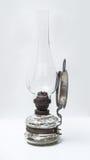 Seitenansicht der Weinlese-Osteuropa-Gaslampe Stockbild