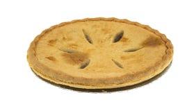 Seitenansicht eines Zuckers geben Apfelkuchen frei Lizenzfreie Stockfotos
