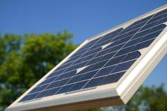 Seitenansicht Solar Lizenzfreie Stockfotos