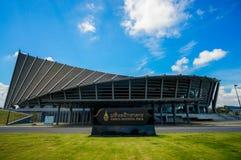 Seitenansicht von Prinzen Mahidol Hall Stockfoto