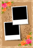Seitenaufstellungs-Fotoalbum Lizenzfreies Stockbild