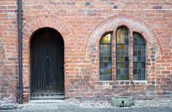 Seiteneingang Kirche Lizenzfreies Stockfoto