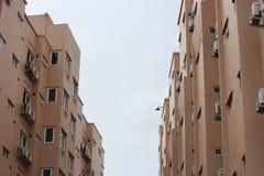Seitengebäude zwei Stockfotografie