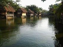 Seitensehen des Rohwassers stockfotografie