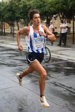 Seitentrieb der Stadt Màlaga-städtischen Rennens 2007 Lizenzfreie Stockfotografie