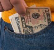 Seitliche Taschen Lizenzfreie Stockfotografie