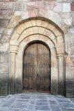 Seitlicher Eingang Stockfoto