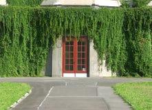 Seitlicher Eingang zum hundertjährigen Hall im Wroclaw. Stockbilder