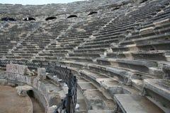 Seitliches Amphitheater Stockfotos