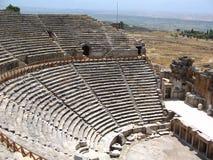 Seitliches Amphitheater Lizenzfreie Stockfotos