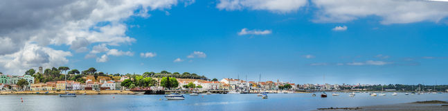 Seixal, Lisbon południe zatoka -, Portugalia zdjęcie stock