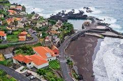 Seixal village, Madeira island, Portugal stock photo