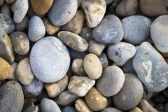 Seixos da costa de mar Fotografia de Stock