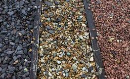 Seixos da pedra e do cascalho Imagens de Stock Royalty Free