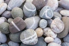 Seixos da praia Foto de Stock Royalty Free