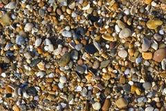 Seixos da praia Fotos de Stock